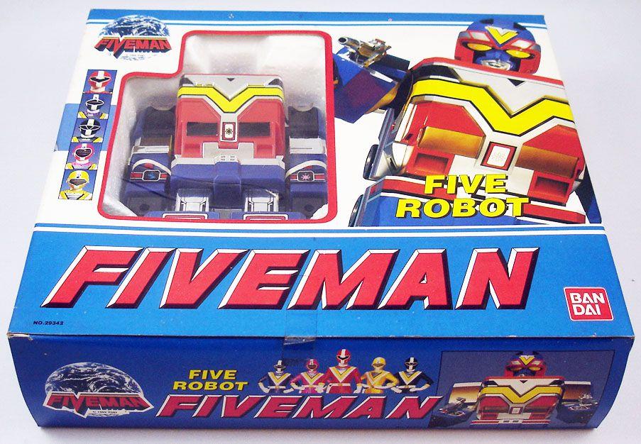 Fiveman - ST Five Robo - Bandai