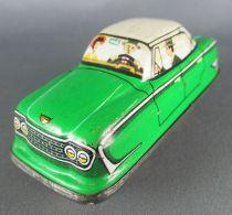 FJ (France Jouets) FJ 1960 Ford Zephir Verte Voiture Mécanique pour Circuit Autoroute