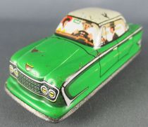 FJ (France Jouets) FJ 1960 Ford Zephir Verte Voiture Mécanique pour Circuit Traffic-Control