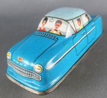 FJ (France Jouets) FJ 1960 Opel Rekord Bleue Voiture Mécanique pour Circuit Autoroute