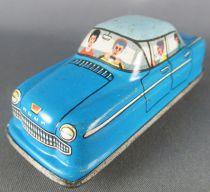 FJ (France Jouets) FJ 1960 Opel Rekord Bleue Voiture Mécanique pour Circuit Traffic-Control