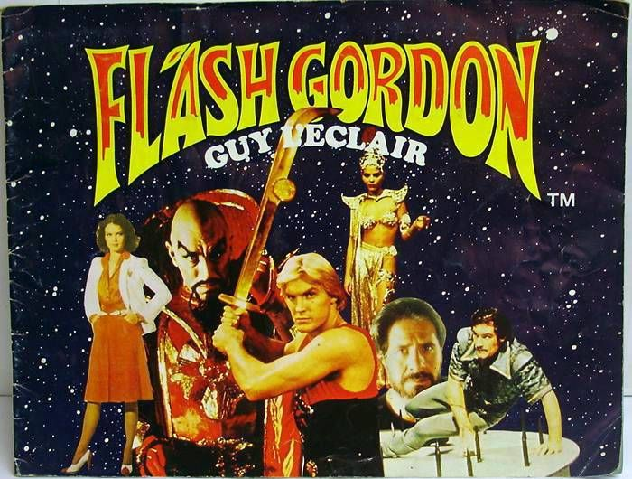 Flash Gordon - AGE Stickers collector book