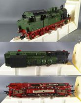 Fleischmann 1890 Prussian Train Steam Loco BR78 T18 3 Cars 1 Fourgon Mint in box