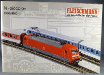 Fleischmann Ech N Catalogue 1998/1999 Loco Voiture Wagon Rails