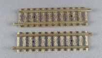 Fleischmann Piccolo 9102 Ech N 2 Rails Droits 57,5 mm 11 traverses