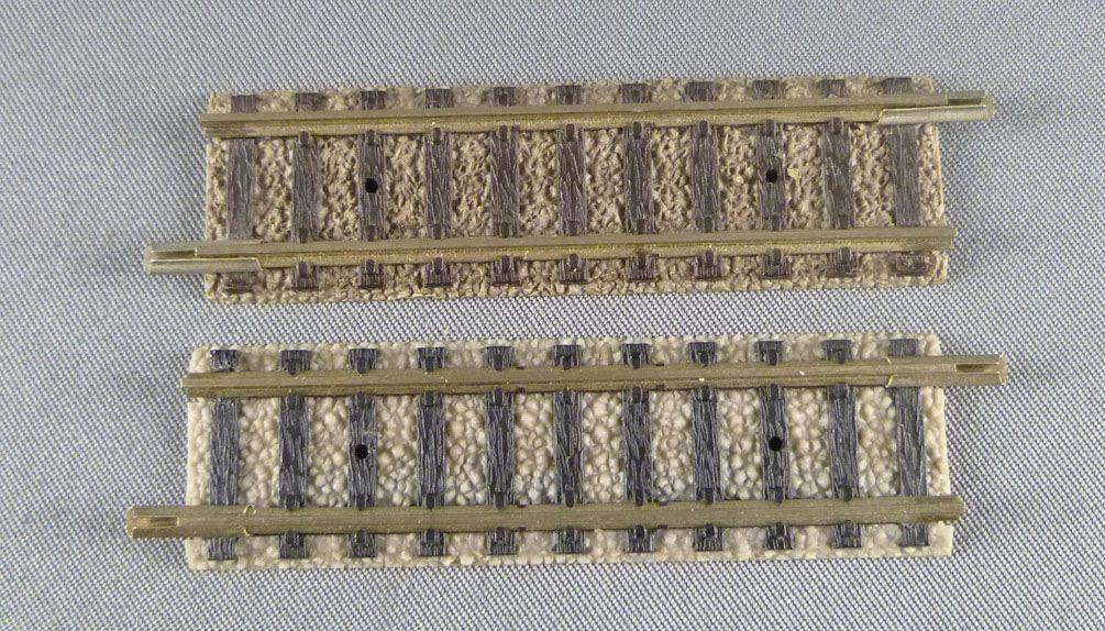 Fleischmann Piccolo 9102 N Scale 2 Straight Tracks 57,5 mm
