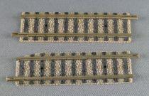 Fleischmann Piccolo 9103 Ech N 2 Rails Droits 55,5 mm 11 traverses