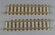 Fleischmann Piccolo 9103 N Scale 2 Straight Tracks 55,5 mm