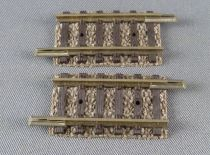 Fleischmann Piccolo 9104 N Scale 2 Straight Tracks 27,75 mm