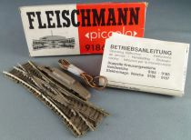 Fleischmann Piccolo 9186 N Scale Electric Double Point 15° Mint in Box