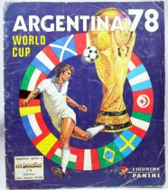 Football - Collecteur de vignettes Panini - FIFA World Cup Argentina 78