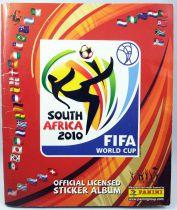Football - Collecteur de vignettes Panini - FIFA World Cup South Africa 2010