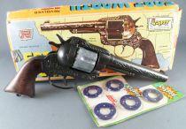 "Fort Worth Pistolet à amorces \""Flippy\"" - R Italie 140 Réf 125 - Neuf Boite"