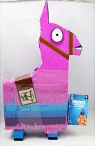 "Fortnite - Jazwares - Llama Drama Loot Piñata with Rust Lord - 4\"" scale action-figure"