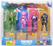 Fortnite - Jazwares - Squad Mode 4-pack - Figurines articulées 10cm