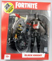 Fortnite - McFarlane Toys - Black Knight - Figurine articulée 17cm