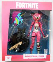Fortnite - McFarlane Toys - Cuddle Team Leader - Figurine articulée 17cm