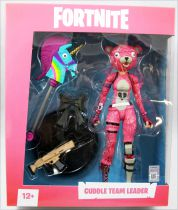 Fortnite - McFarlane Toys - Cuddle Team Leader - Figurine articulée 17cm