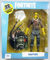 "Fortnite - McFarlane Toys - Raptor - 6\"" scale action-figure"