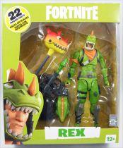 Fortnite - McFarlane Toys - Rex - Figurine articulée 17cm