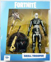 Fortnite - McFarlane Toys - Skull Trooper - Figurine articulée 17cm
