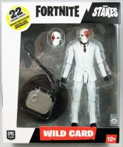 "Fortnite - McFarlane Toys - Wild Card Red - 6"" scale action-figure"