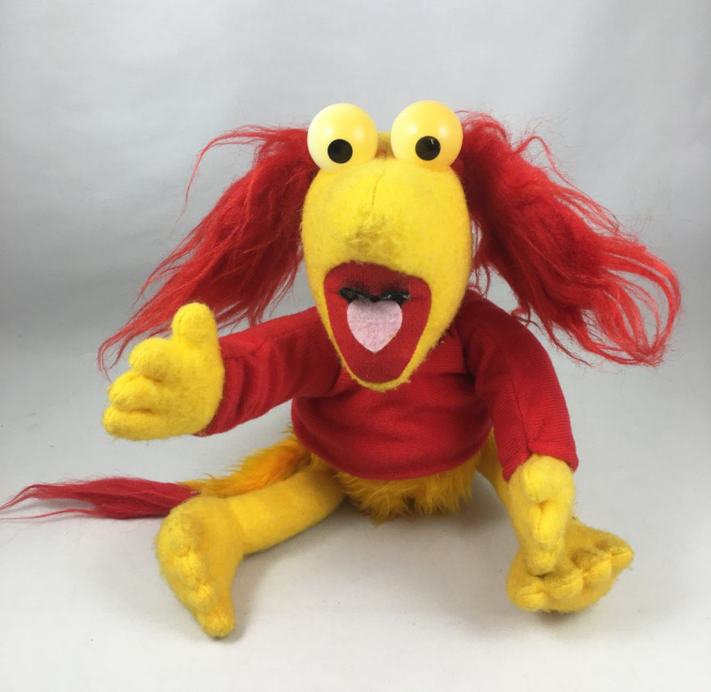 Fraggle Rock - Ideal - Maggie Peluche 30cm