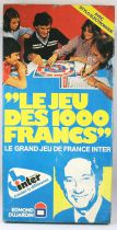France Inter\'s 1000 Francs Game - Board Game - Editions Dujardin 1978