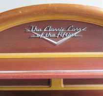 Franklin Wooden Shelving Wall Rack Display Classic Cars of the Fifties 1:43