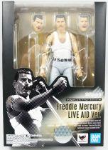 "Freddie Mercury - \""Live Aid\"" - Bandai S.H.Figuarts figure"