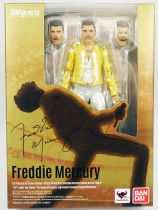 "Freddie Mercury - ""The Magic Tour 1986\"" - Figurine S.H.Figuart Bandai"