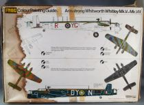 Frog - F207 Armstrong Whitworth Whitley Mk.V/Mk.VII Bomber Mint in Box 1:72