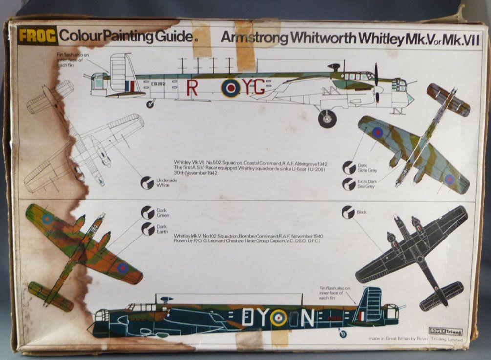 Frog - F207 Armstrong Whitworth Whitley Mk.V/Mk.VII Bomber Neuf Boite 1/72ème