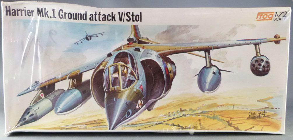 Frog - F273 Harrier Mk.1 Ground Attack V/Stol Mint in Sealed Box 1:72