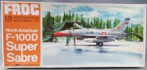 Frog - F280 North American F-100D Super Sabre Mint in Box 1:72