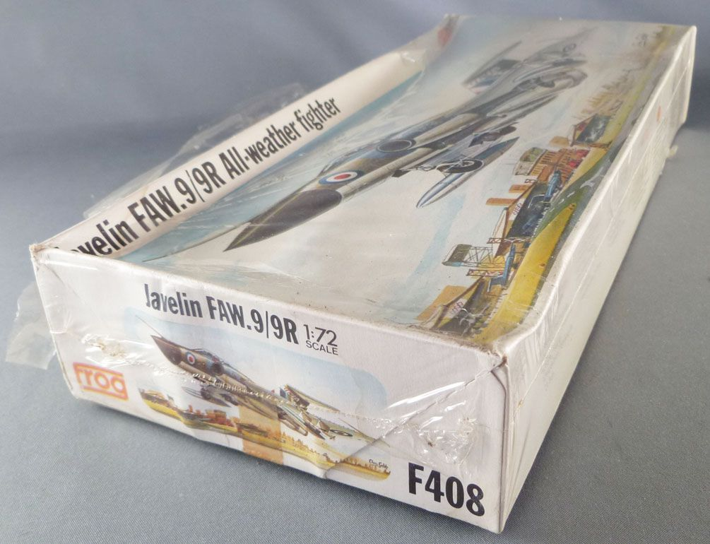 Frog - F408 Javelin FAW.9/9R All-Weather Fighter Neuf Boite cellophanée 1/72ème