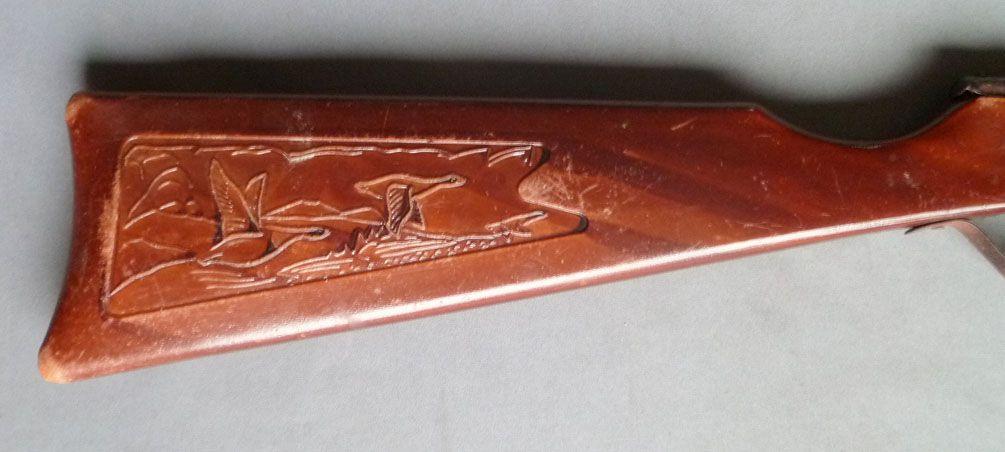 Fusil de Chasse à Fléchette - Crosse Bois Sculptée
