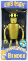 """Futurama - Funko Coin Bank - 8\"""" Bender (Limited Gold - SDCC 2007 Exclusive))"""