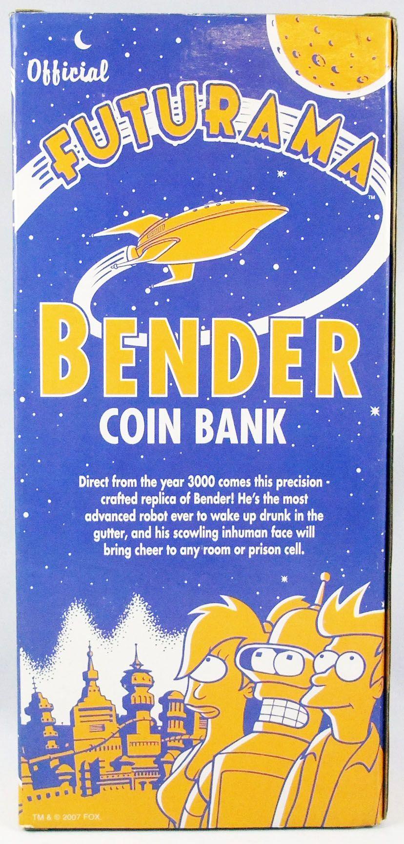 Futurama - Funko Coin Bank - Tirelire 25cm Bender
