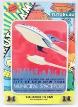 "Futurama - Rocket USA - Collectible Tin Sign \""New York\"""