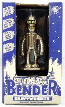 Futurama - Rocket USA - Figurine Heavyweight Chrome Bender
