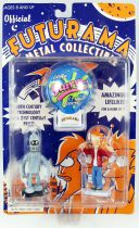 Futurama - Rocket USA - Figurines métal : Bender & Fry