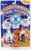 Futurama - Rocket USA - Figurines métal : Professor Farnsworth & Leela