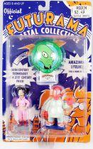 Futurama - Rocket USA - Metal Figures : Amy Wong & Dr. Zoidberg