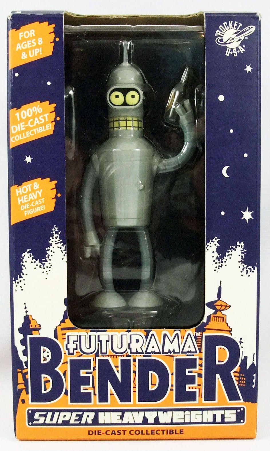 Futurama - Rocket USA - Super Heavyweight Bender
