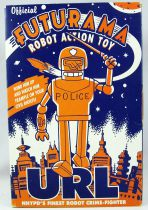 Futurama - Rocket USA - Tin Robot Wind-up URL
