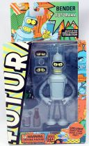 Futurama - Toynami - Bender (Robot Devil Buil-A-Bot)