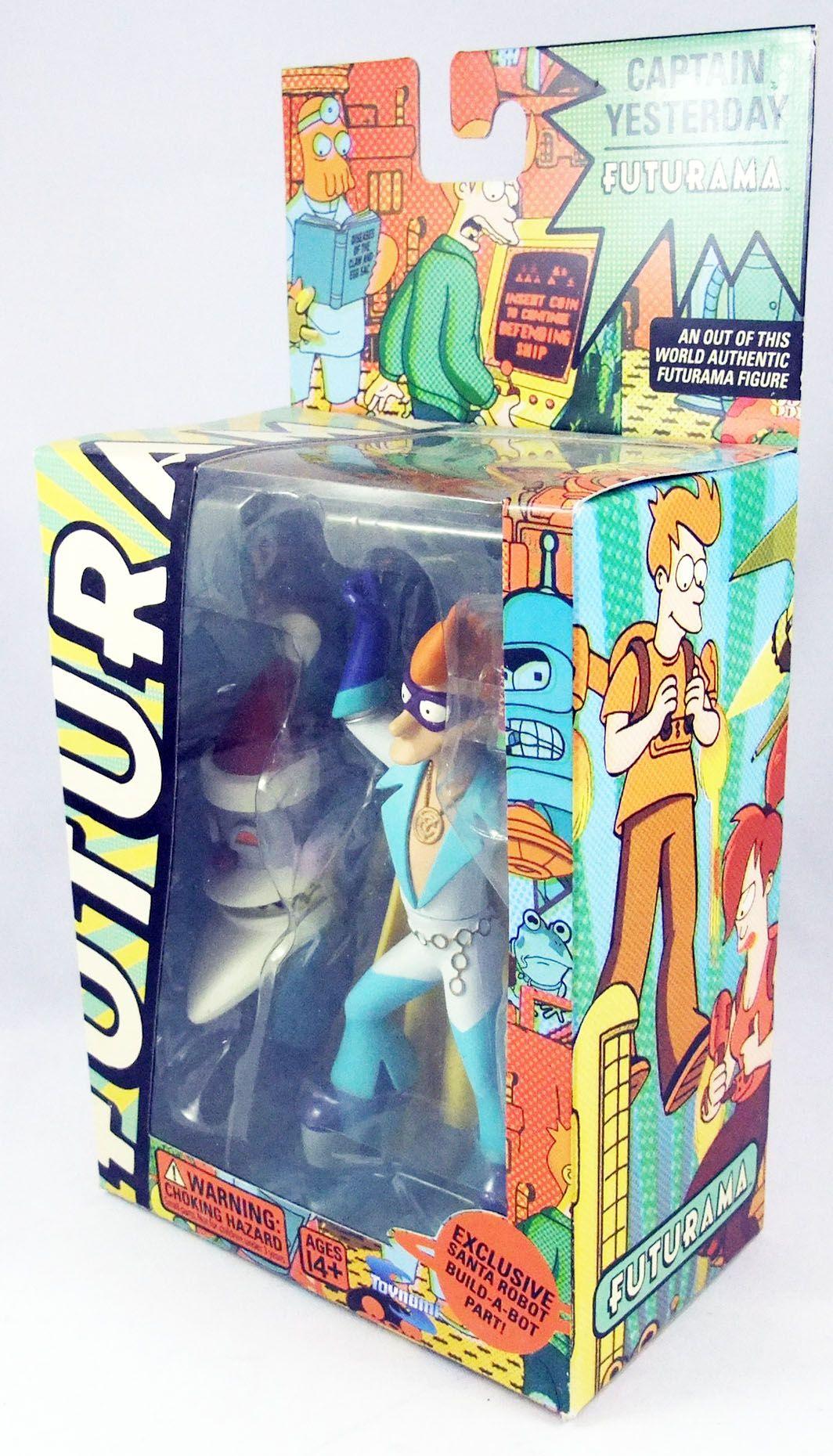 Futurama - Toynami - Captain Yesterday (Santa Robot Build-A-Bot)
