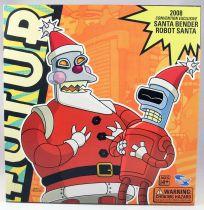 Futurama - Toynami - Santa Bender & Robot Santa (2008 Convention Exclusive)
