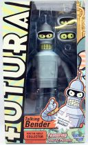 Futurama - Toynami - Talking Bender parlant 20cm